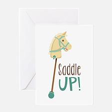 Saddle Up! Greeting Cards