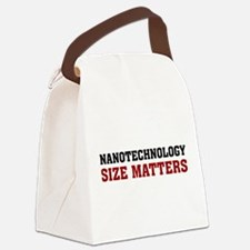 nanotech.png Canvas Lunch Bag