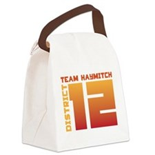 teamhaymitch-01.png Canvas Lunch Bag