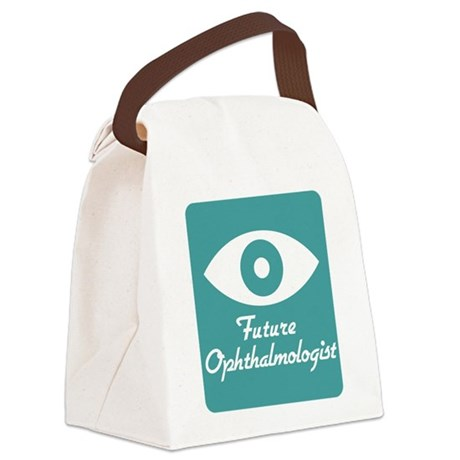 Future Ophthalmologist Canvas Lunch Bag