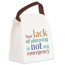 lack.png Canvas Lunch Bag