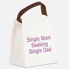 singlemomseek.png Canvas Lunch Bag