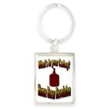 What's in your Carboy? Portrait Keychain
