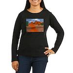 Southwest Mountai Women's Long Sleeve Dark T-Shirt