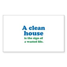 A Clean House Decal