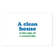 A Clean House Postcards (Package of 8)