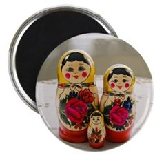 Russian Doll (Baboushka) family Magnets
