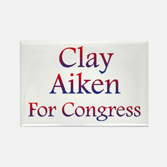 Clay Aiken for Congress Rectangle Magnet (10 pack)