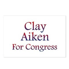 Clay Aiken for Congress Postcards (Package of 8)