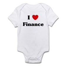 I Love Finance Infant Bodysuit
