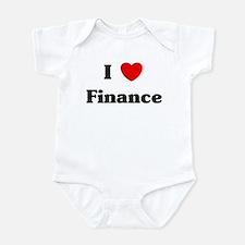 I Love Finance Infant Bodysuit