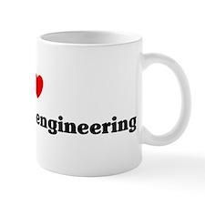 I Love Agricultural engineeri Coffee Mug