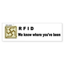 RFID Bumper Car Sticker