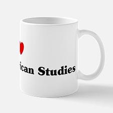 I Love African American Studi Mug