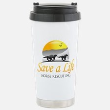 Save A Life Horse Rescu Stainless Steel Travel Mug
