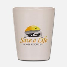 Save A Life Horse Rescue Shot Glass