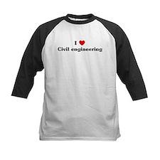 I Love Civil engineering Tee