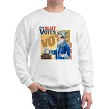This Slut Votes Sweatshirt