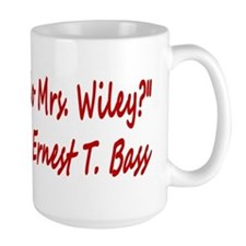 How do you do Mrs. Wiley? Mug