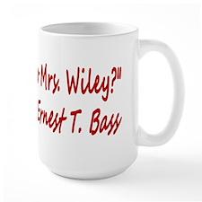 How do you do Mrs. Wiley? Mug