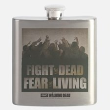Fight The Dead, Fear The Living Flask