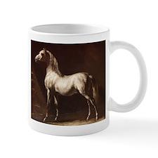 White Arabian Horse Mugs
