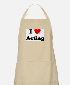 I Love Acting BBQ Apron