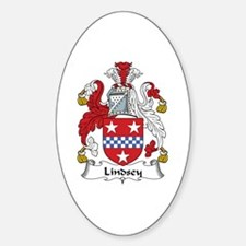 Lindsey Oval Decal