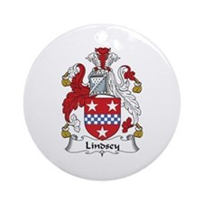 Lindsey Ornament (Round)