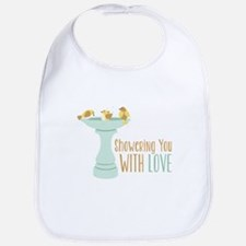 Showering You With Love Bib