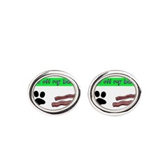 Paws off my bacon! Cufflinks
