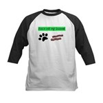 Paws off my bacon! Baseball Jersey