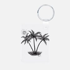 PALM TREE TRIO Keychains