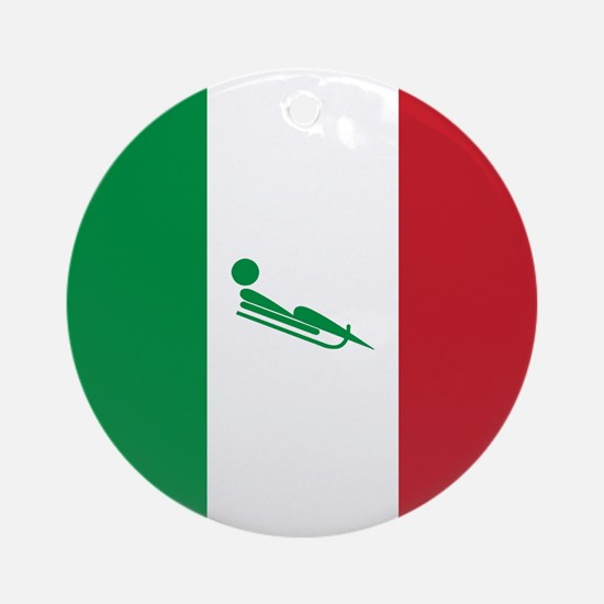 Team Luge Italy Ornament (Round)