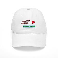 Give me bacon Baseball Baseball Cap