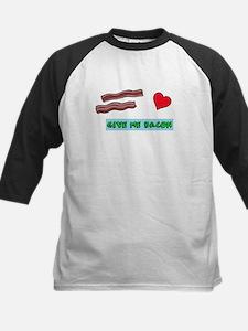Give me bacon Baseball Jersey