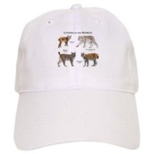 Lynxes of the World Baseball Cap