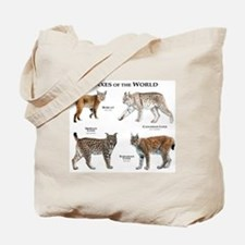 Lynxes of the World Tote Bag