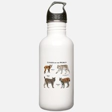 Lynxes of the World Water Bottle