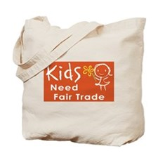 """Fair Trade Kids"" Tote Bag"