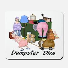 Dumpster Diva Mousepad