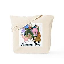 Dumpster Diva Tote Bag