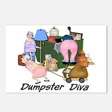 Dumpster Diva Postcards (Package of 8)