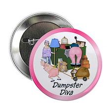 """Dumpster Diva 2.25"""" Button"""