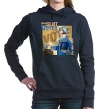 This Slut Votes Hooded Sweatshirt