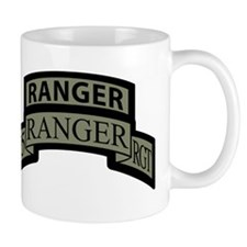 75th Ranger Regt Scroll with Mugs