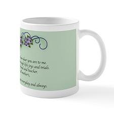 Pansy Floral Mug