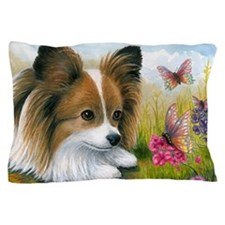 Dog 123 Papillon Butterfly Pillow Case