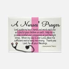 A Nurses PRAYER BEST.JPG Magnets