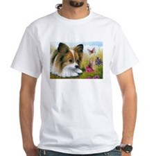 Dog 123 Papillon Butterfly T-Shirt